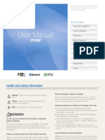Samsung ST5500(CL80) English User Manual
