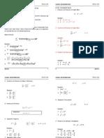 Algebra 3ro Secundaria