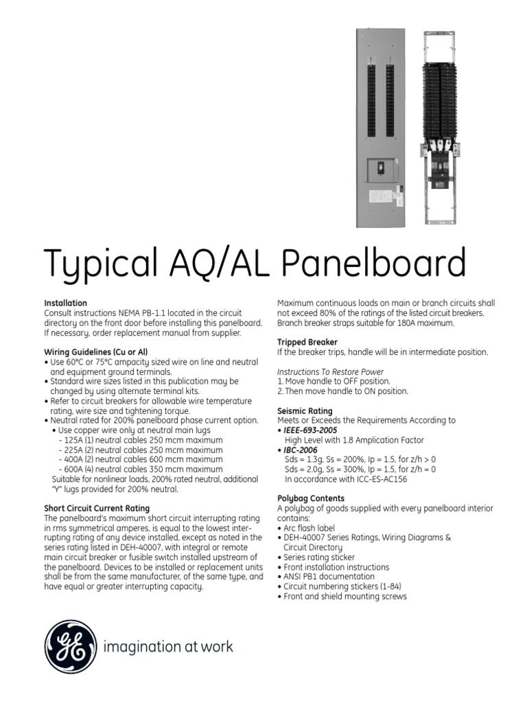 Panel Board Electrical Wiring Power Engineering Branch Circuit