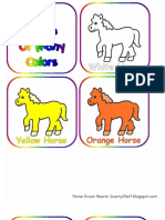 A Horse of Many Colors BOOK