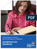Avoidance of Plagiarism-guidelines