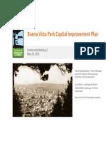 Buena Vista Park Community Meeting Presentation 2015-05-20