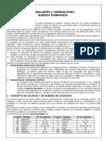 Formulación y Nomenclatura - Química Inorgánica