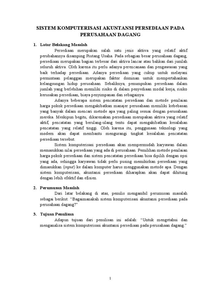 Contoh Outline Skripsi Contoh Soal Dan Materi Pelajaran 2