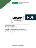 Unidad 2.Representación numérica y gráfica de datos