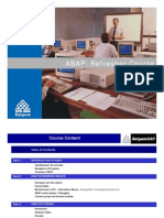 Sap Abap Refresher Course NoRestriction