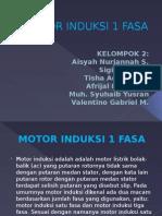 Motor Induksi 1 Fasa (Presentasi )