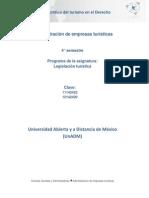Unidad 1. Relacion Juridica Del Turismo en El Derecho Publico y Privado