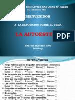 El Autoestima Ps Walter Arevalo