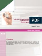 Presentación Indicador de Capacidad Maxíma VER 1.1-OK