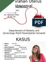 Pendarahan Uterus Abnormal