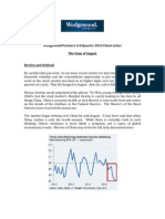 Wedgewood Partners 3rd Quarter 2015 Client Letter the Guns of August