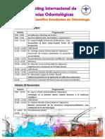 Programacion de Meeting & Encuentro UV 2015