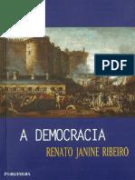 A Democracia-Renato Janine Ribeiro