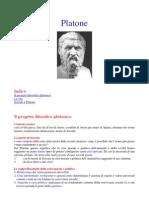 presentazione della filosofia di Platone
