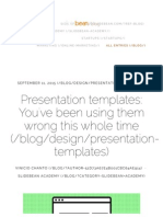 Presentation Templates_ You'Ve Been Using Them Wrong This Whole Time
