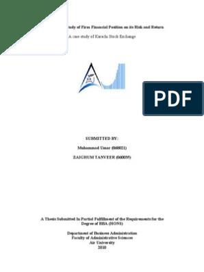 finance topics