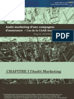 Audit Marketing d'Une Compagnie d'Assurance «