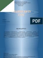 FARMACOLOGIA NEUROLEPTICOS