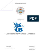 United Breweries Group Report