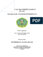Cover Statistik Pdd II