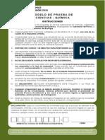 Ensayo PSU 2015 - Química