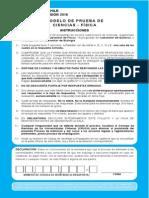 Ensayo PSU 2015 - Física