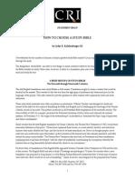 How to Choose a Study Bible by John r Kohlenberger III PDF