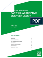 Uaet Industrial Noise Series Viii Absorptive Silencer Design