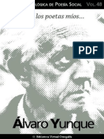Cuaderno de Poesia Critica n 48 Alvaro Yunque