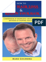 How to Stop Hair Loss and Regain Your Hair - eBook Demo