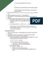 Exam 2 Preparation