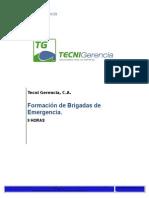 Formacion de Brigadas de Emergencia 08 Horas(manual).doc
