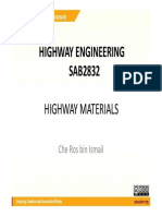 Highway Materials