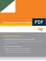 CDV_Pensioenshervorming_Presentatie-2010