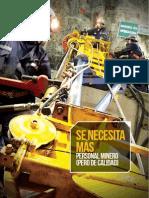Entrevista a Rosario Almenara en Rumbo Minero Edición Abril