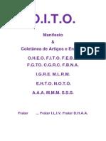 O.I.T.O. - Manifesto da Ordem