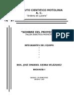Pre Proyecto ICM
