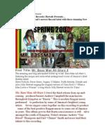 Conscious Riddims Records press release
