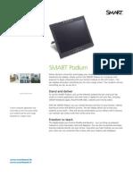Factsheet SMART Podium ENG