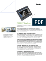Factsheet SMART Podium Widescreen FR