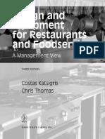 Design and Equipment for Restaurant.pdf