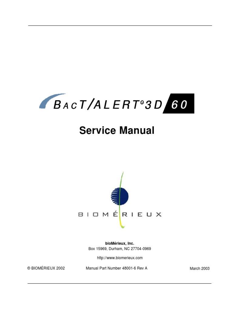 Biomerieux bactalert 3d 60 service manual power supply copyright fandeluxe Images