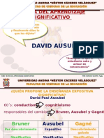 Paula Soncco David Ausubel