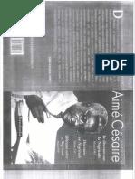 CESAIRE, Aimé. Discurso Sobre a Negritude