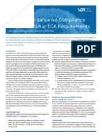 Industry Guidance on Compliance With the Sulphur ECA Requirements