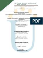 Identificación de Residuos Sólidos y Definición de Alternativas de Tratamiento
