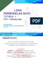 20140302220325CBDA3103 (T1) Analisis Dan Pemodelan Data