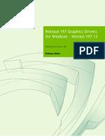 197.13 Win7 WinVista Desktop Release Notes