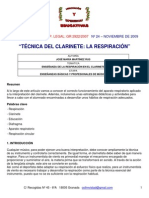 Tecnica de Clarinete Josem_martinez